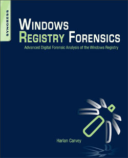 Book of the Month – Windows Registry Forensics