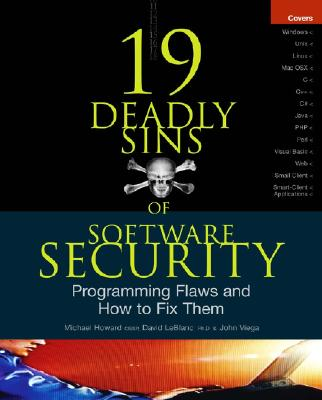 Book of the Month : 19 Deadly Sins of Software Security