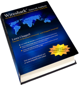 Book of the Month – Wireshark Network Analysis