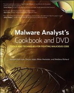 Book of the Month – Malware Analyst's Cookbook