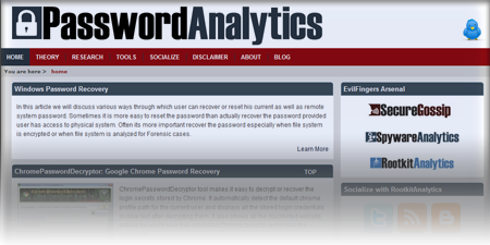 Launched Our New Portal, PasswordAnalytics.com