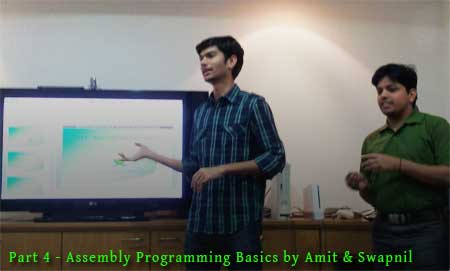 Assembly Programming Basics Presentation & Updates