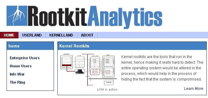 RootkitAnalytics is Live Now