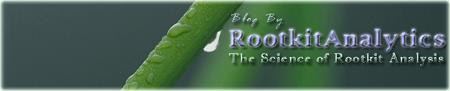 Official Blog of RootkitAnalytics
