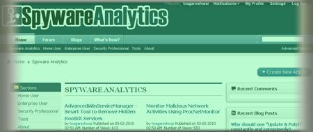 Join the SpywareAnalytics Forum