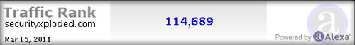 Site Traffic Report for Feb 15 – Mar 15 2011